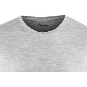Bergans Oslo Wool T-paita Miehet, grey melange